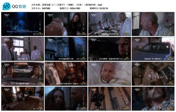 图片:美国电影《十二只猴子》(1996)(长译)